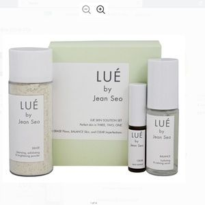 New LUE by Jean Seo Skin Solution Set